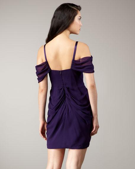 Off-The-Shoulder Grecian Dress