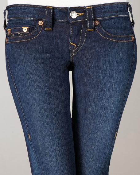 Stella Lonestar Flat-Pocket Skinny Jeans
