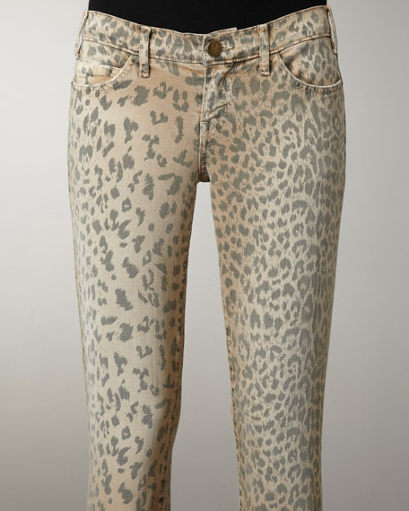 Stiletto Leopard Skinny Jeans