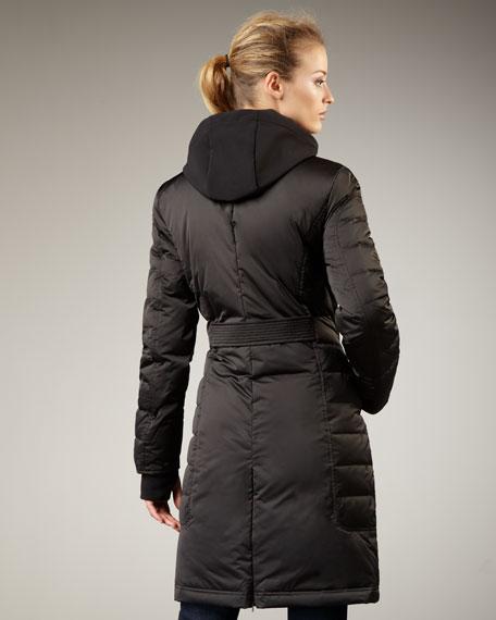 Satin Puffer Coat
