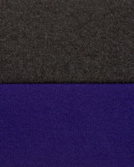 Batwing-Sleeve Cashmere Cardigan
