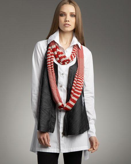 Leather Upstage Vest