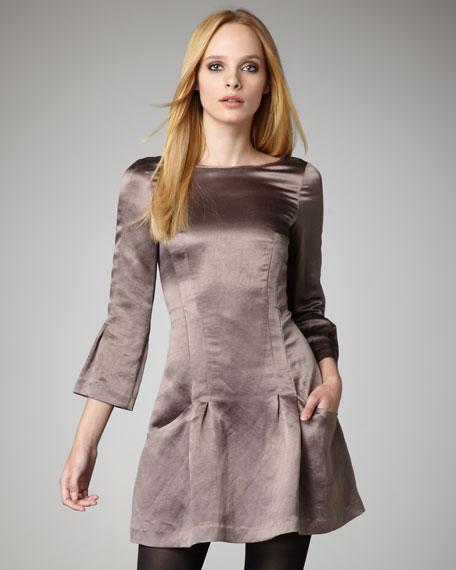 Sanlinda Satin Dress