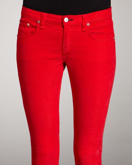 The Skinny Crimson Jeans