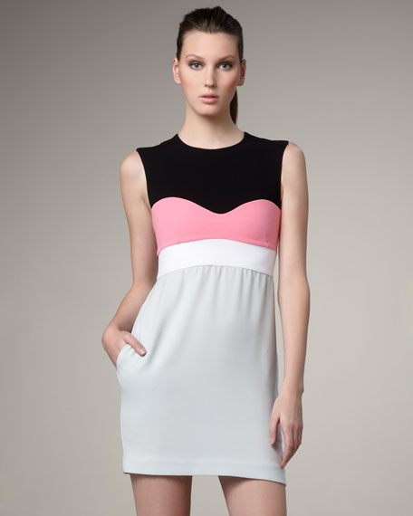 Tamika Colorblock Dress
