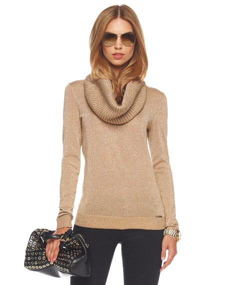 Neck-Warmer Sweater