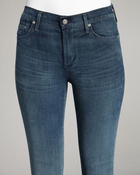 Rocket Halo High-Rise Skinny Jeans