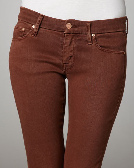 The Looker Rust Skinny Jeans
