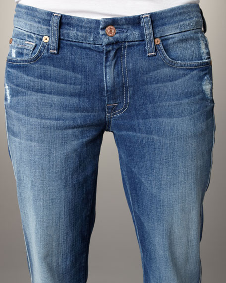 A-Pocket Baywater Blue Boot-Cut Jeans