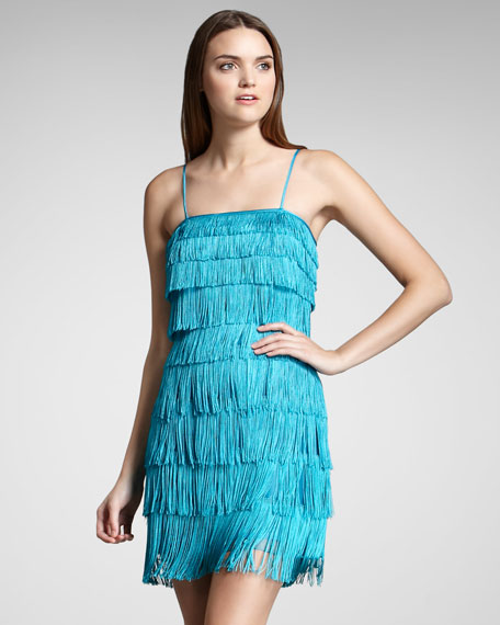 Tiered Fringe Dress