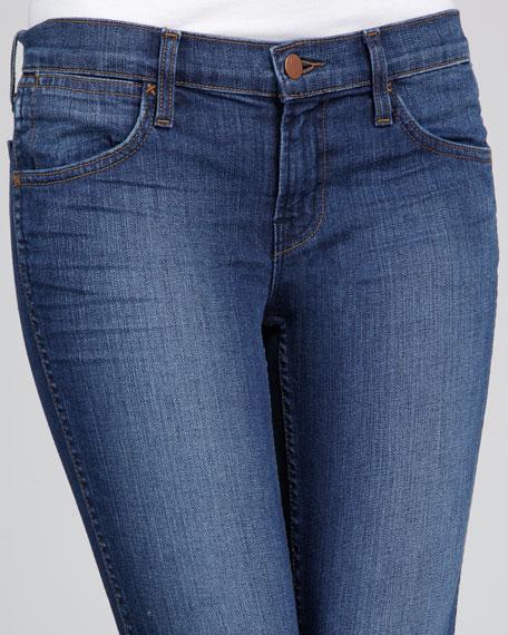 9221 Vivid Low-Rise Pencil-Leg Jeans