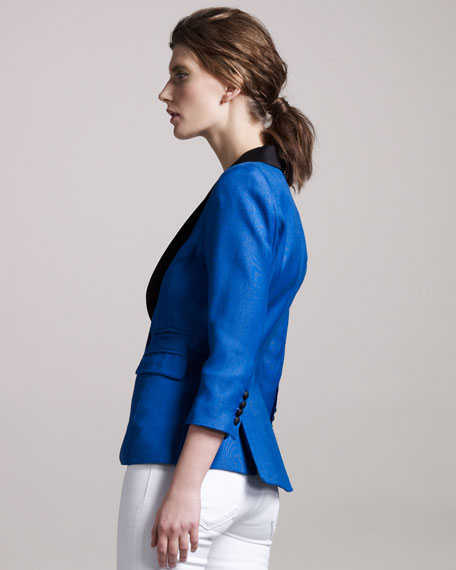 Shawl-Collar Blazer