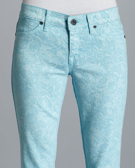 Legacy Neptune Floral-Print Jeans