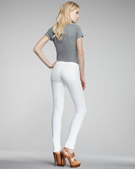 Legacy Aged White Skinny Jeans