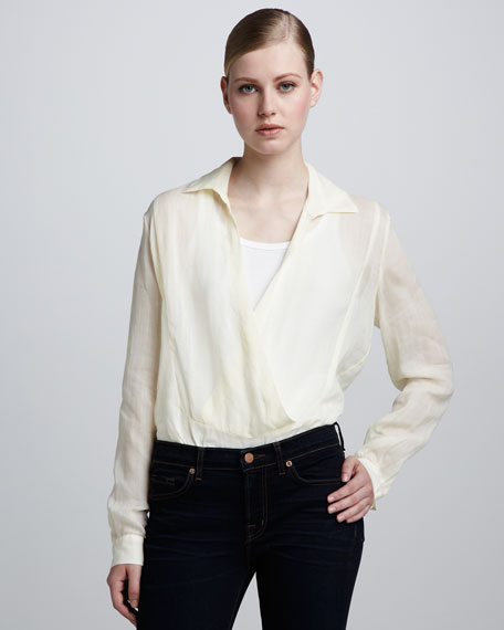 Loose Sheer Blouse