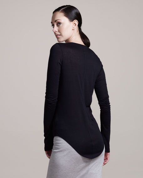 Kinetic Long-Sleeve Jersey Tee