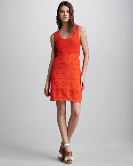 Bahia Knit Jacquard Dress
