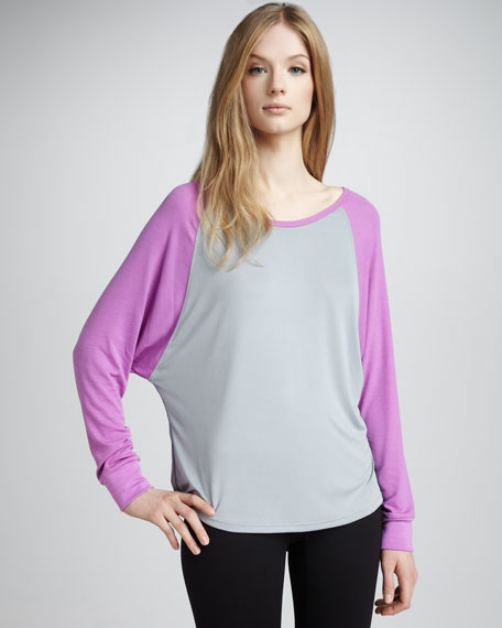 Frenchie Draped Baseball Tee