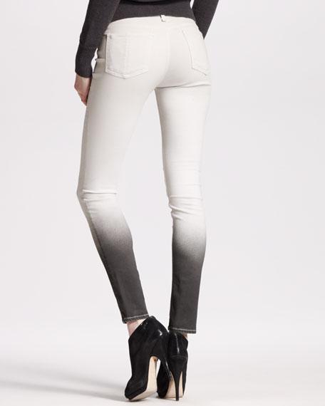 The Legging, Winter White Ombre