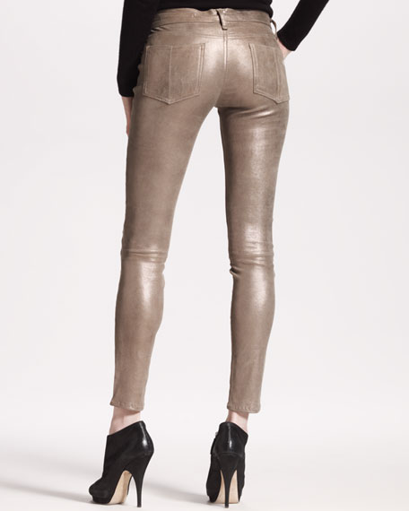 The Skinny, Bronze Leather