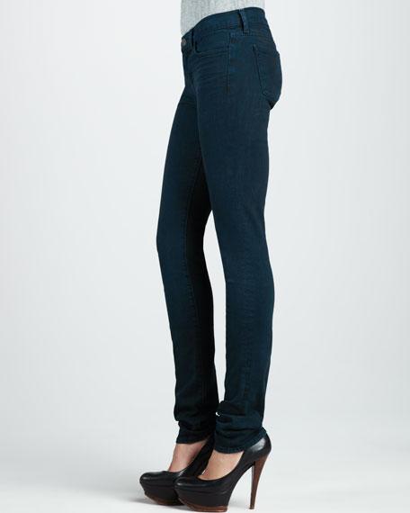 912 Noir Blue Pencil Jeans