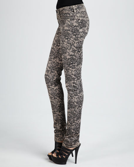 The Skinny, Chantilly Lace Print