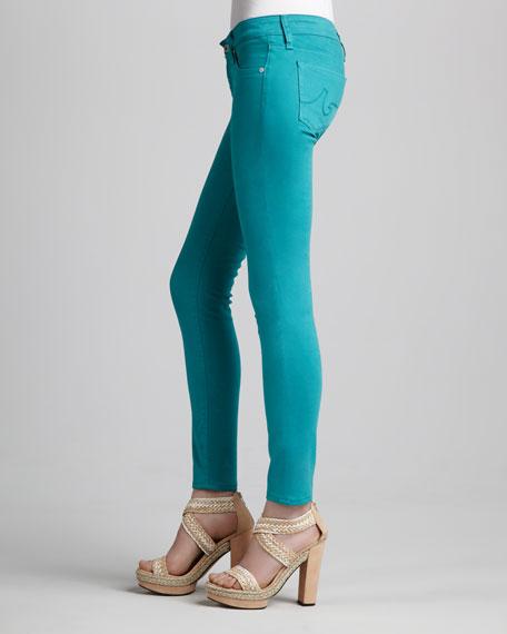 Sateen Ankle Legging