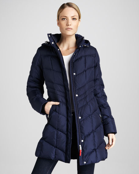 Annie Long Puffer Coat