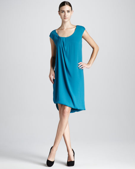 Twist Drape Dress
