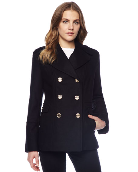 Felt Pea Coat