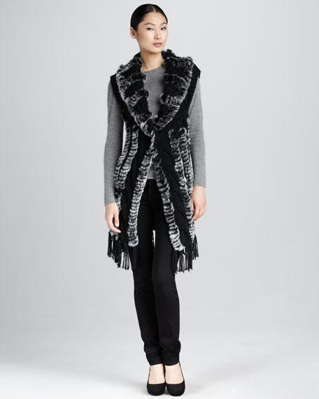 Rocky Mountain Fur Vest, Petite