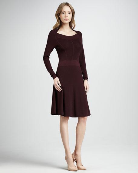 Aleyta Rib-Trim Dress