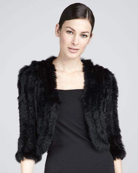 Knit Fur Bolero