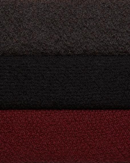 Washable Wool-Ribbed Cardigan