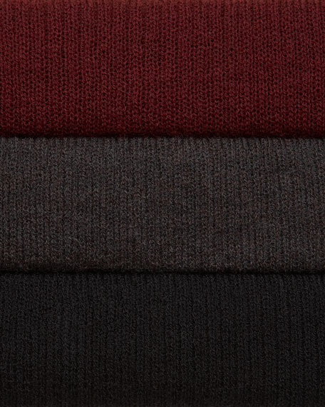 Washable Wool-Ribbed Shell