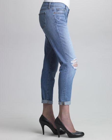 Aoiki Slim Boyfriend Jeans
