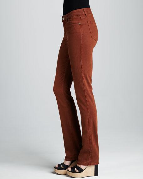 Faith Sueded Boot-Cut Jeans