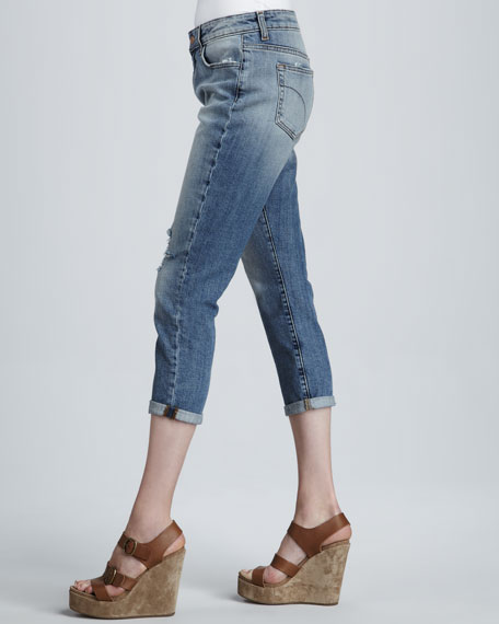 The High Water Slouchy Jeans