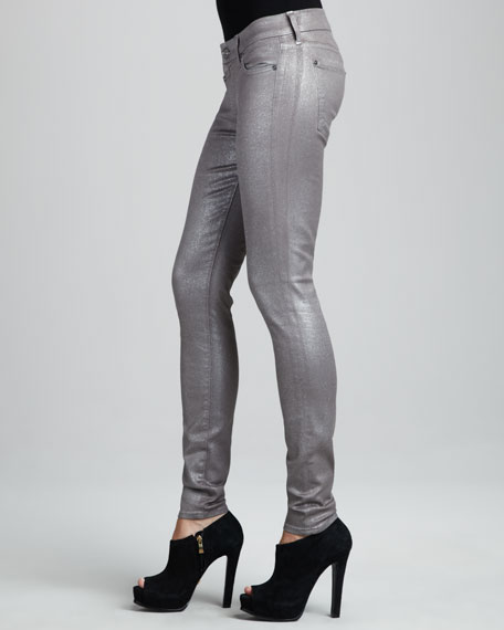 Glittered Skinny Jeans
