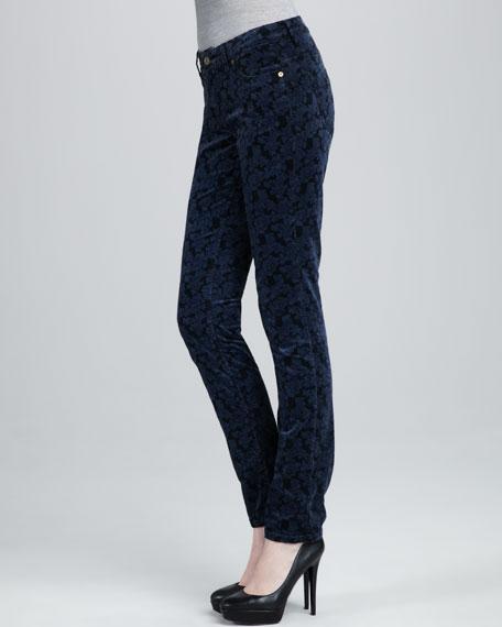 Paisley Velvet Jeans