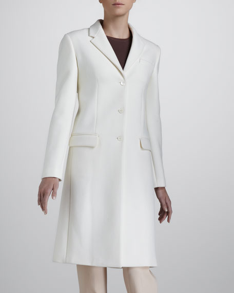 Melton Reefer Coat