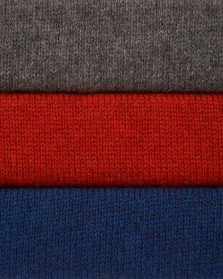 Short-Sleeve Hooded Poncho
