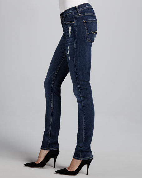 Roxanne Skinny Distressed Jeans