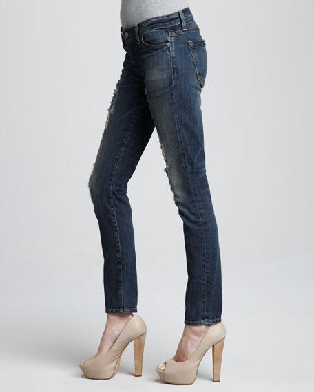 Debbie Distressed Skinny Jeans