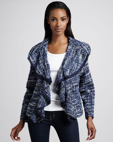 Hamptons Tweed Weekend Jacket, Women's