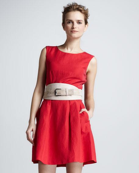 Darcy Cutout-Back Dress