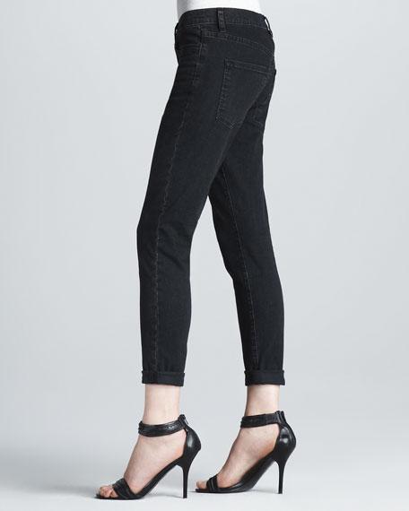 Cuffed Skinny Jeans