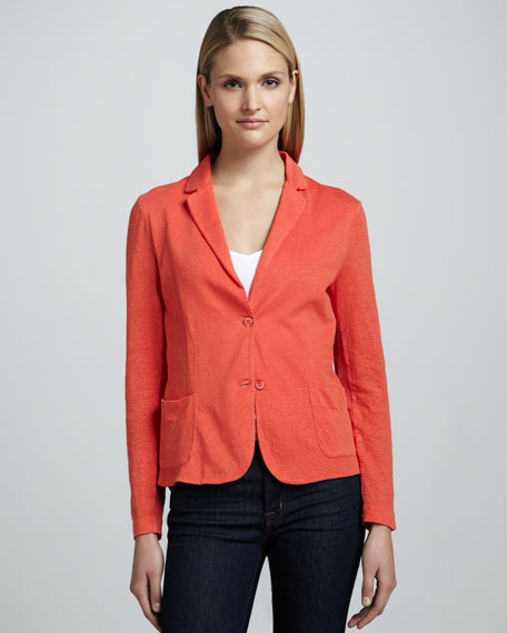 Soft Touch Two-Button Blazer