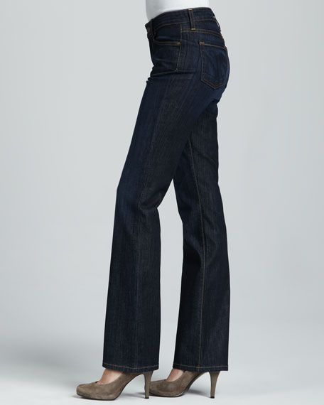 Modified Boot-Cut Denim Jeans