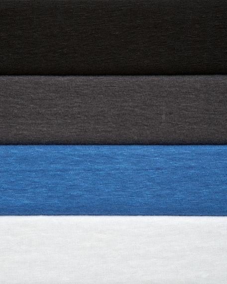 Three-Quarter-Sleeve Modest Linen Tee